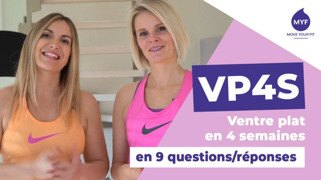 Le programme VP4S, ventre plat en 4 semaines, créé par Jessica Mellet et Aurélie Edmond.