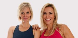 Jessica Mellet et Aurélie Edmond, coachs sportifs diplômés d'état des métiers de la forme.
