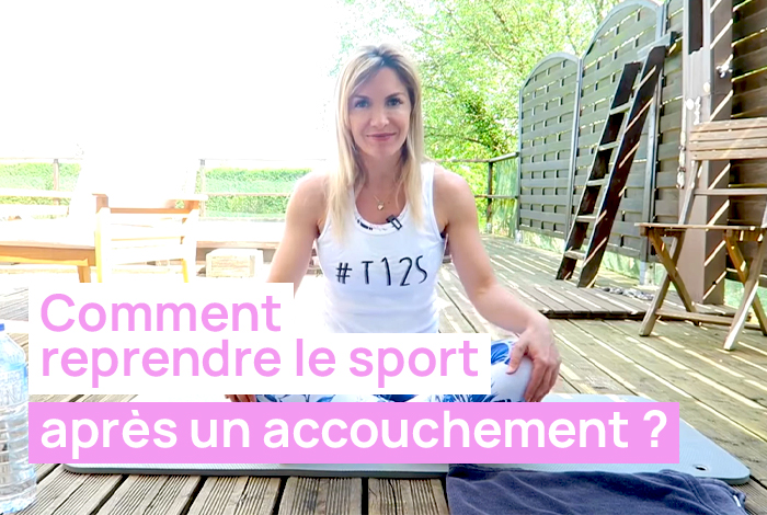 Reprise du sport post accouchement, post grossesse.