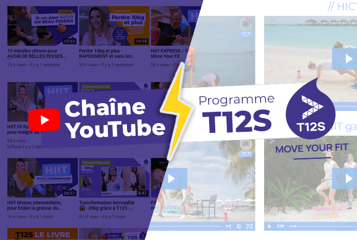Chaîne YouTube MYF Move Your Fit - Programme T12S