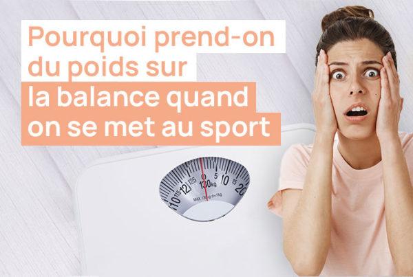 Prendre du poids sur la balance quand on se met au sport n'a rien d'anormal.